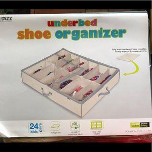 Toddler Shoe Organizer
